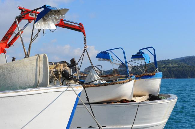 … e pescatori di telline …